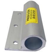 Aluminiumhylsa sidostöd