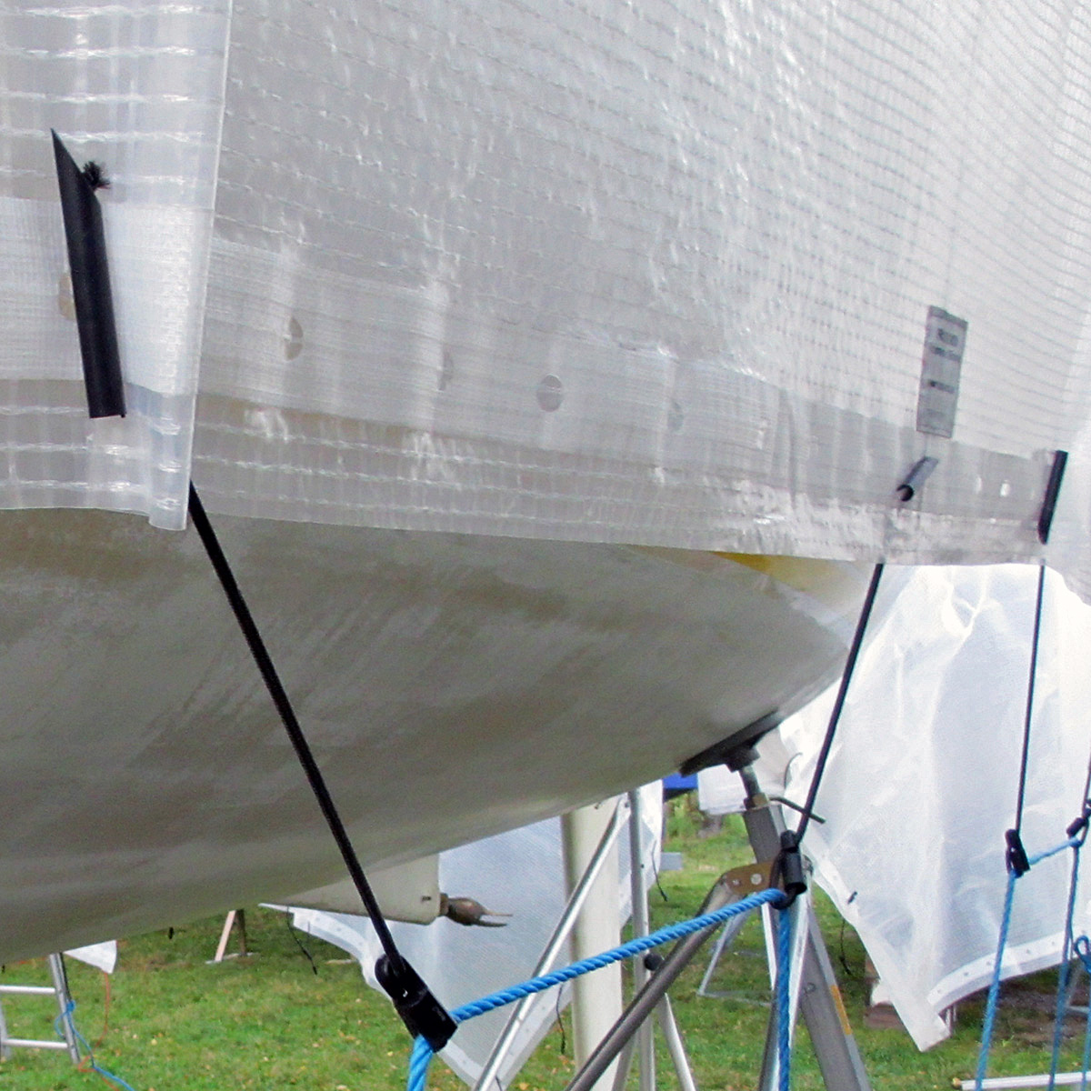 Strålande Presenning SuperTarp Premium UV vit | Press & Son SN-51