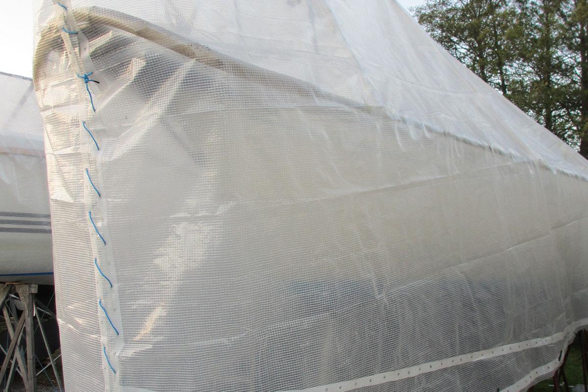 Splitter nya Presenning SuperTarp Premium UV vit | Press & Son JW-26