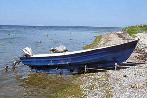 Klurig båtslip