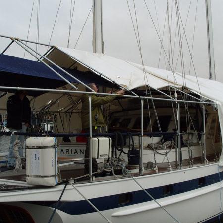 87 fots segelbåt