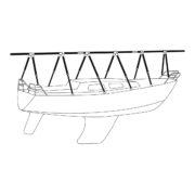 Däckställning segelbåt