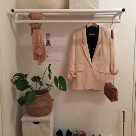 Svetsad klädställning