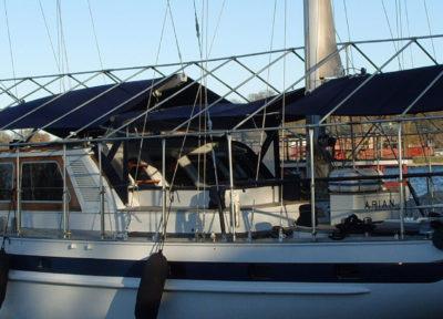 Båttäckning till Arian segelbåt