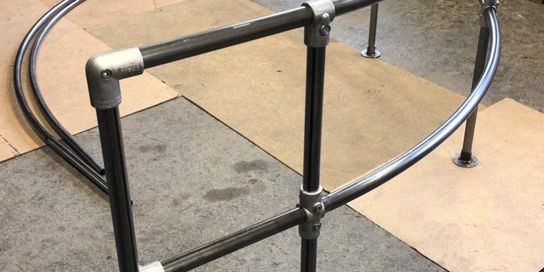Valsade stålrör till Longchamps
